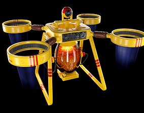 Drone delivery brains 3D