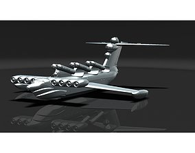 ROCKET EKRANOPLAN PROJECT 903 LUN 3D printable model