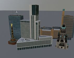 3D asset Berlin High Rise Pack