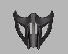 3D printable model Noob Saibot mask from Mortal Kombat 9 1