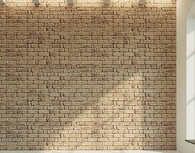 Brick wall Old brick 14 3D model