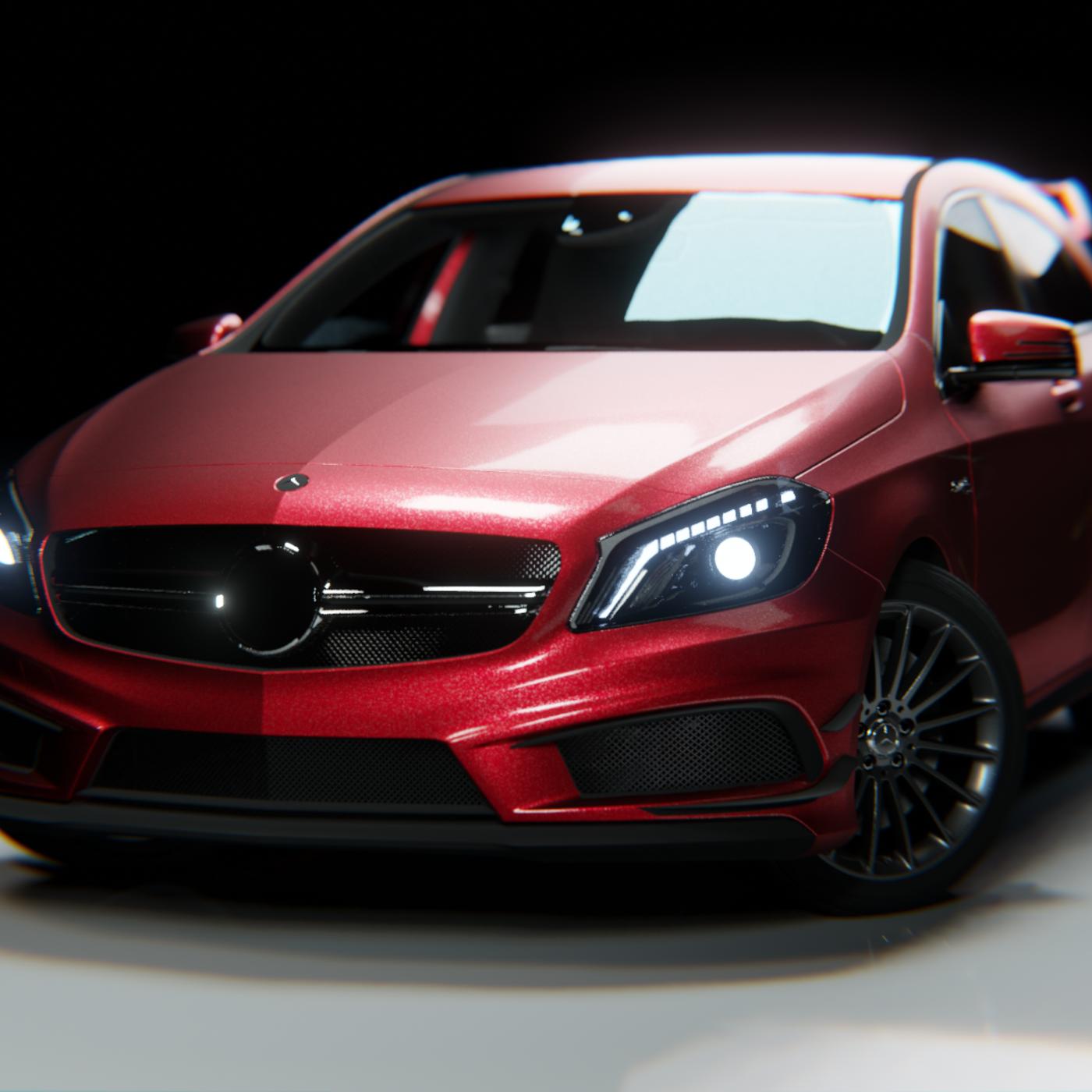 Realistic Car shader for Blender