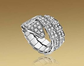 3D printable model bulgari snake ring price