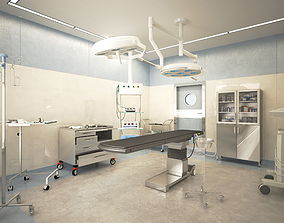 3D Surgical room for operations