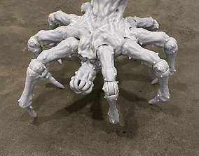 Krykna Spider Articulation figure with eggs 3D print model