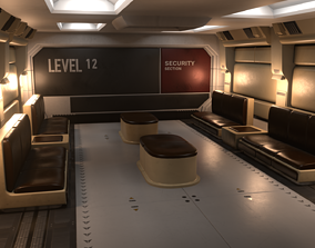 3D Room Project from alien isolation game