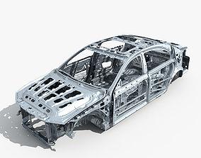 3D model Car Frame 01