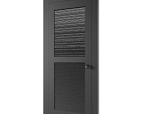 metallic Metal Door 3D model