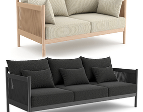 BRAID Sofa and Lounge by Norm 3D model