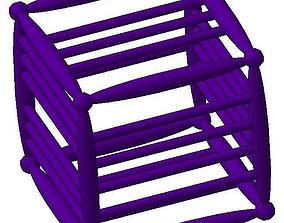dice polygon 3D print model Dice