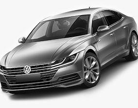 3D VW Arteon 2018