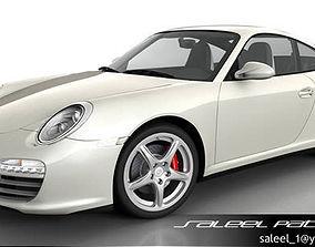 3D Porsche 911 Carerra 2012