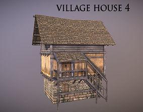 Village House 4 3D asset