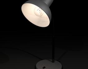 3D asset desktop lamp