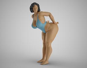 3D print model Playful Woman