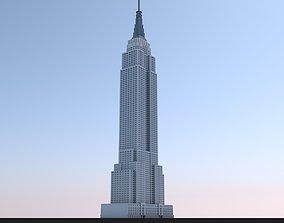 3D model Empire State Building Landmark