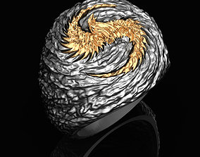 3D printable model Ring of Firebird