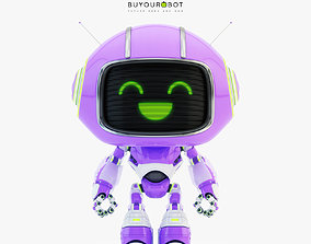 3D Lovely robot - companion VII