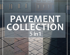 Photoscanned pavement texture collection 3D model