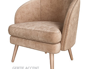 Gertie Accent Armchair 3d model low-poly