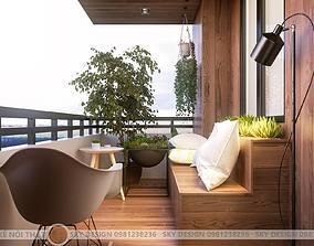 Logia apartment 3D model