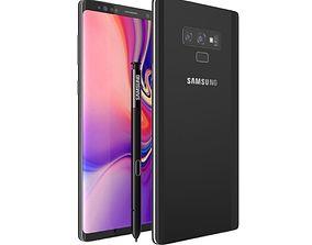 Samsung Galaxy Note 9 Midnight Black samsung 3D model