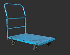 3D model Industrial Trolley PBR Game Ready