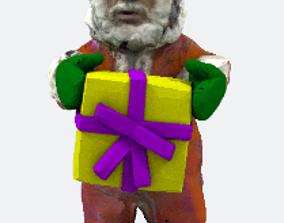 1-Santa 3D printable model