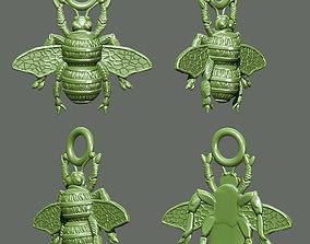 bee pendant 3D print model