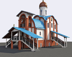 3D model Church 2