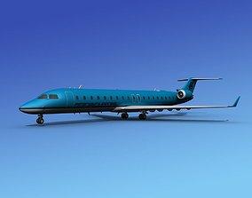3D Bombardier CRJ700 Petersburg Express