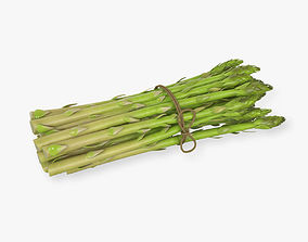 Detailed Asparagus 3D