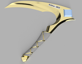 LEAGUE OF LEGENDS AKALI SICKLE KDA 3D printable model