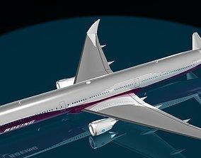 BOEING 777 - 9X 3D model