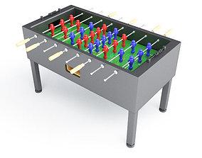 3D Soccer Table