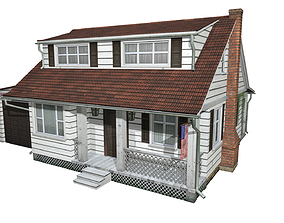 3D model Vacation home