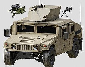 Humvee M1151 3D asset
