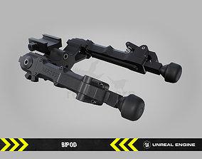 3D asset Bipod - FPS Gun Attachment for Unreal Engine