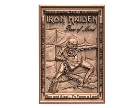 3D print model Iron maiden Eddie PIece of mind CNC