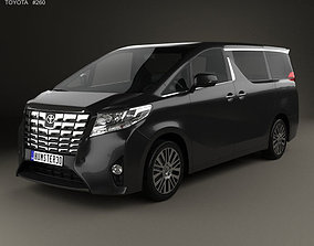 Toyota Alphard CIS 2015 3D model