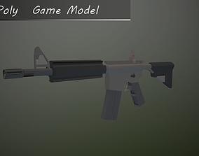 Assault Rifle M4A4 3D asset