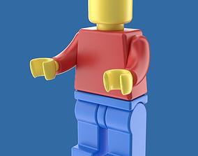 3D LEGO toy figure