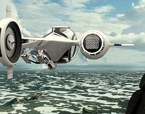 Oblivion Copter aviation 3D model