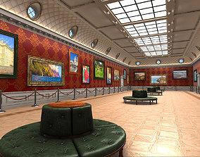 3D model Art Gallery Expo