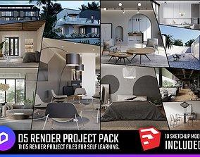 3D D5 Render Project Pack