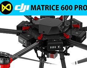 3D model DJI Matrice 600 Pro electronics
