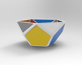 design 3D model realtime Ceramic Bowl