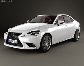 3D Lexus IS XE30 with HQ interior 2013