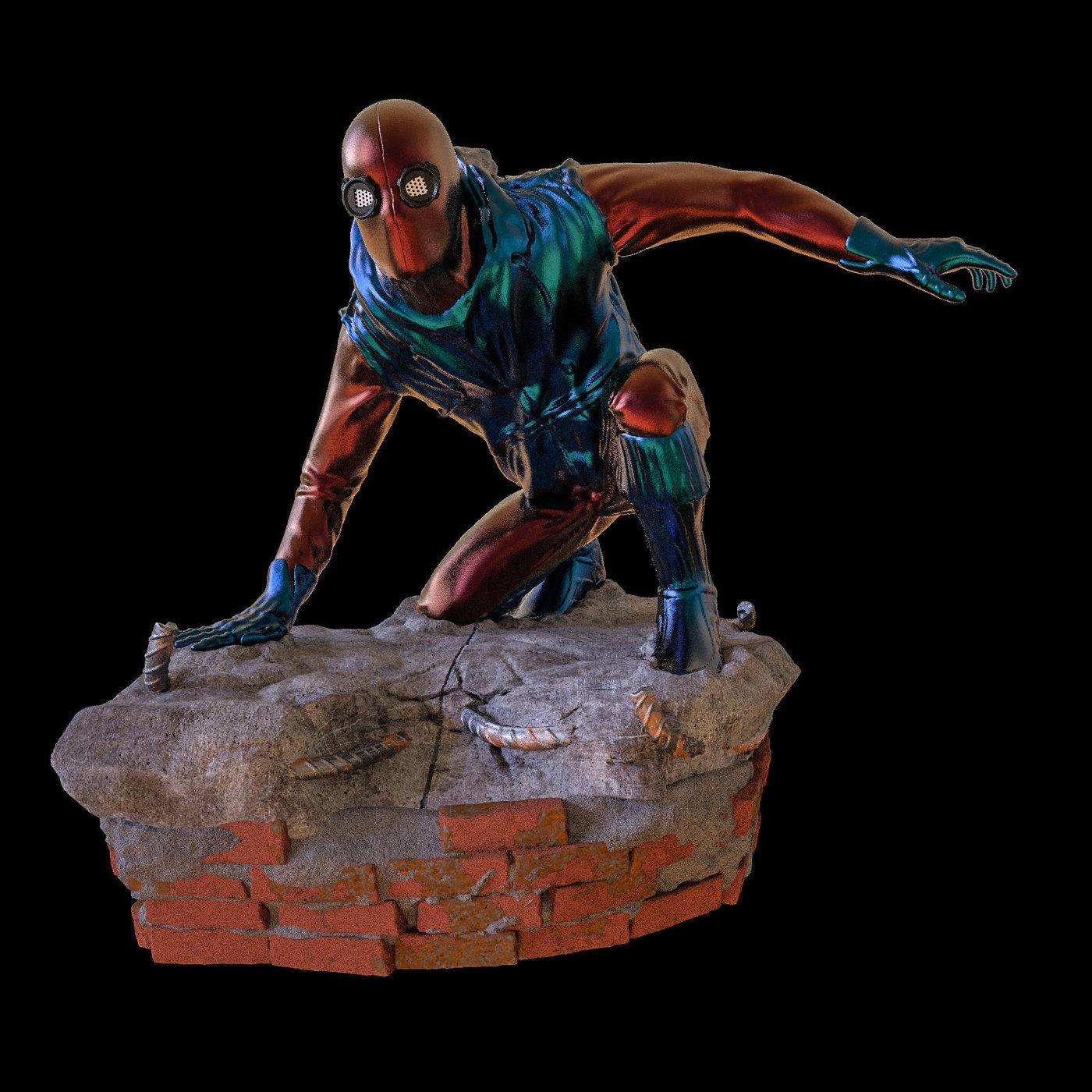 Spider-Man Homemade Suit