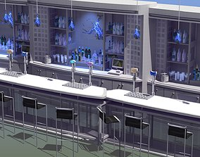 3D asset Nightclub Laser Bar